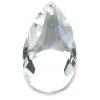 Drops Machine Cut 37x21mm Crystal